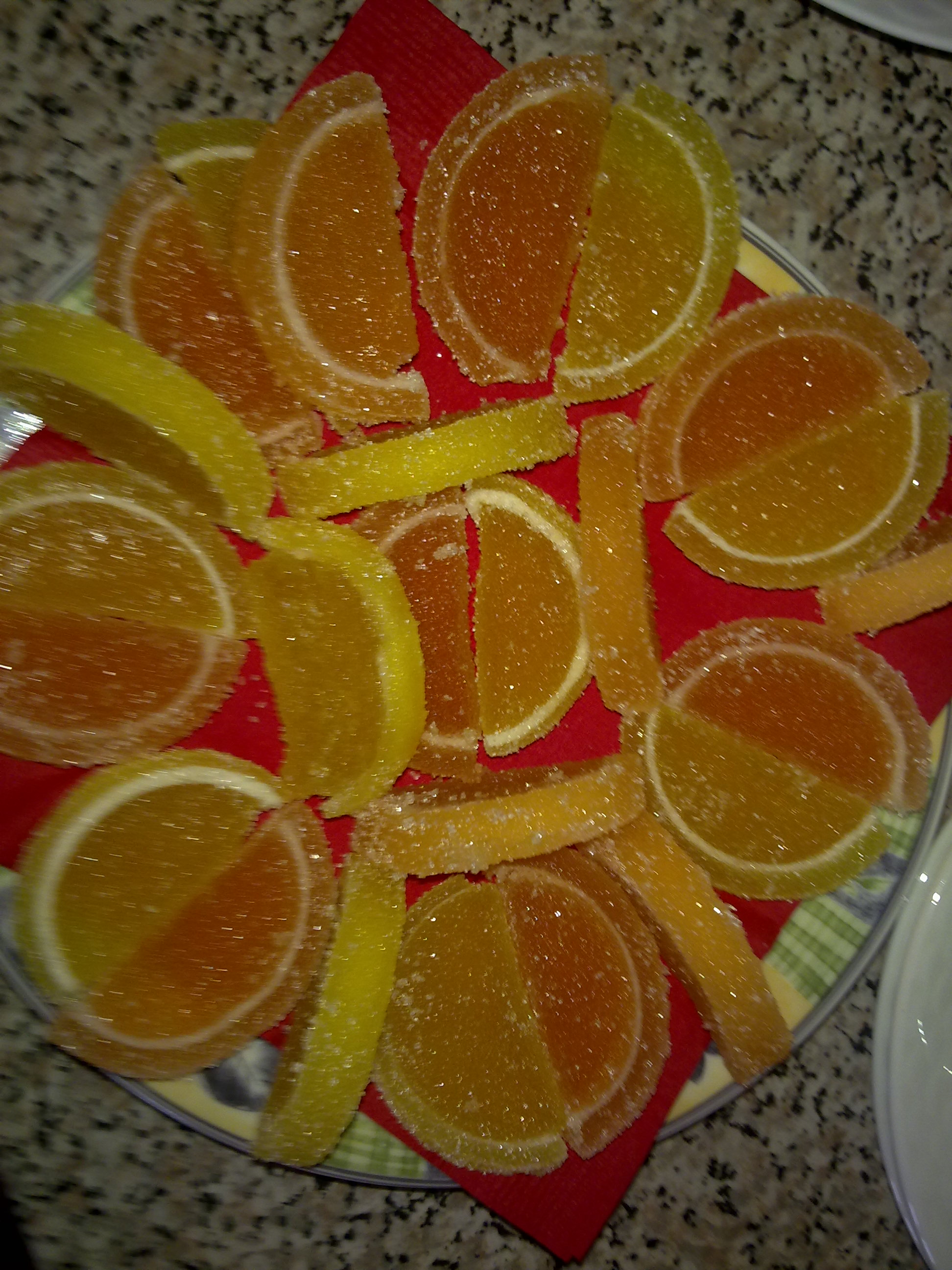 "Russian marmelade ""Lemon slices"""