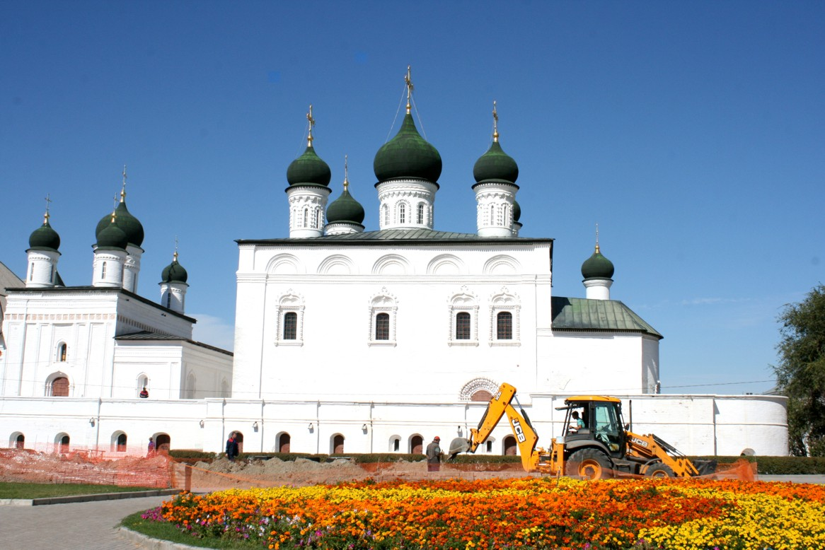 St. Nocolai Church within Astrakhan Kremlin