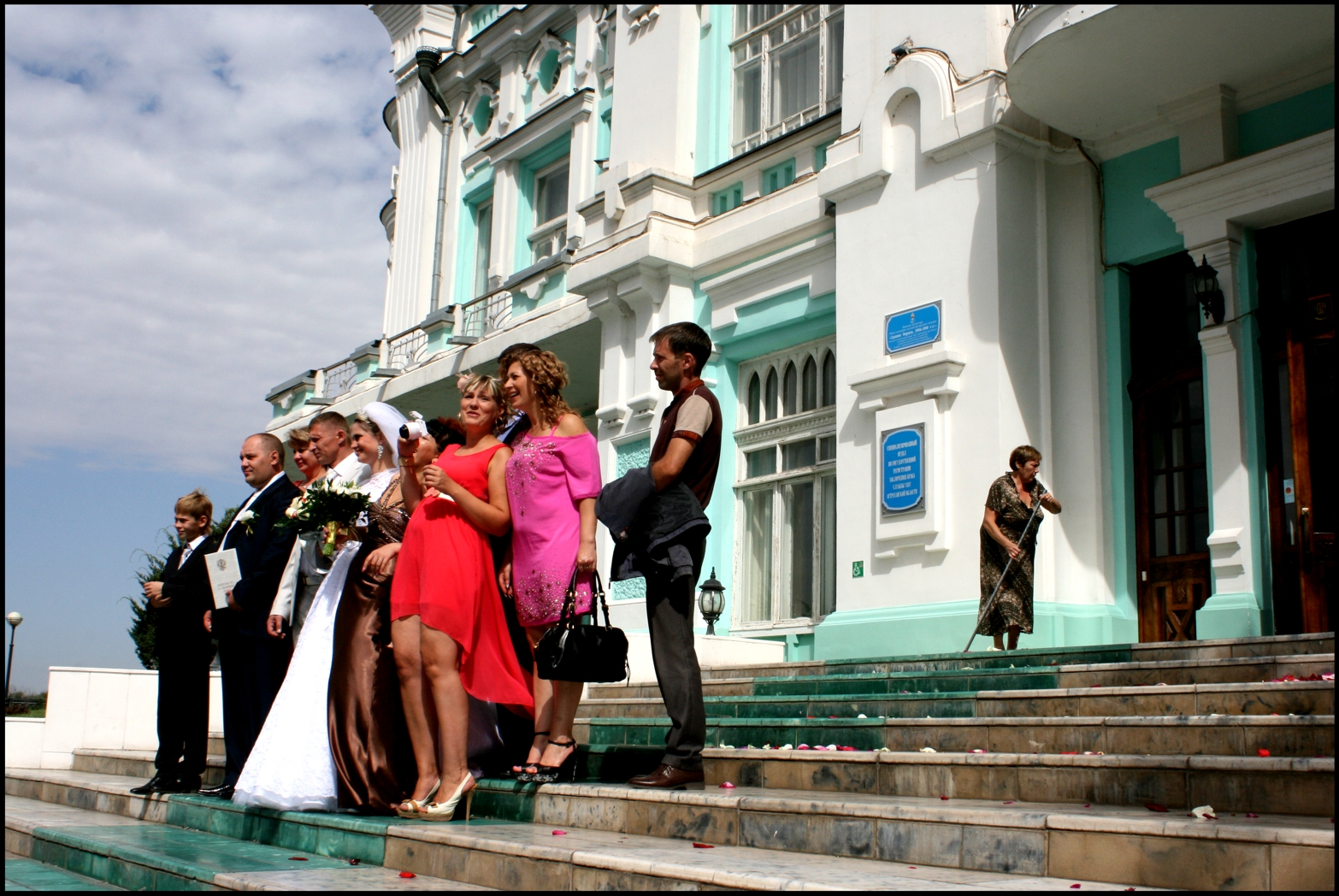 One Funny Russian Wedding