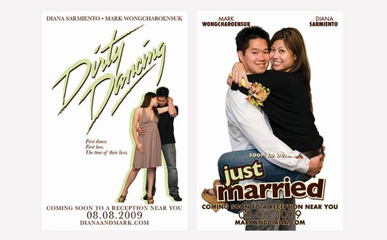 dirty-dancing-just-married-wedding-invitation